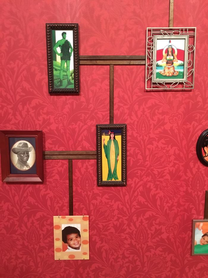 Nina, Katchadourian, The Genealogy of the Supermarket, 2015