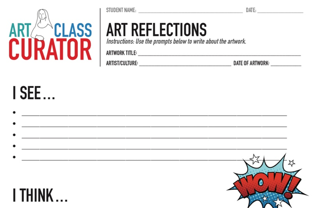 free art worksheets